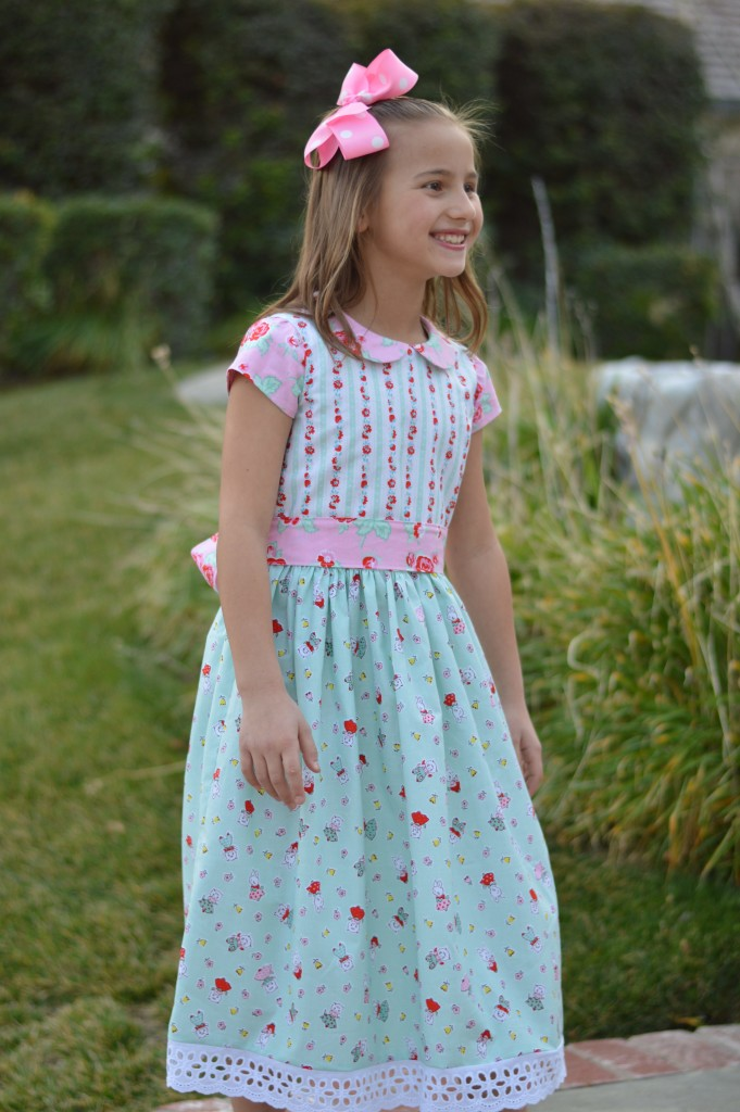 milk sugar flower dress 5