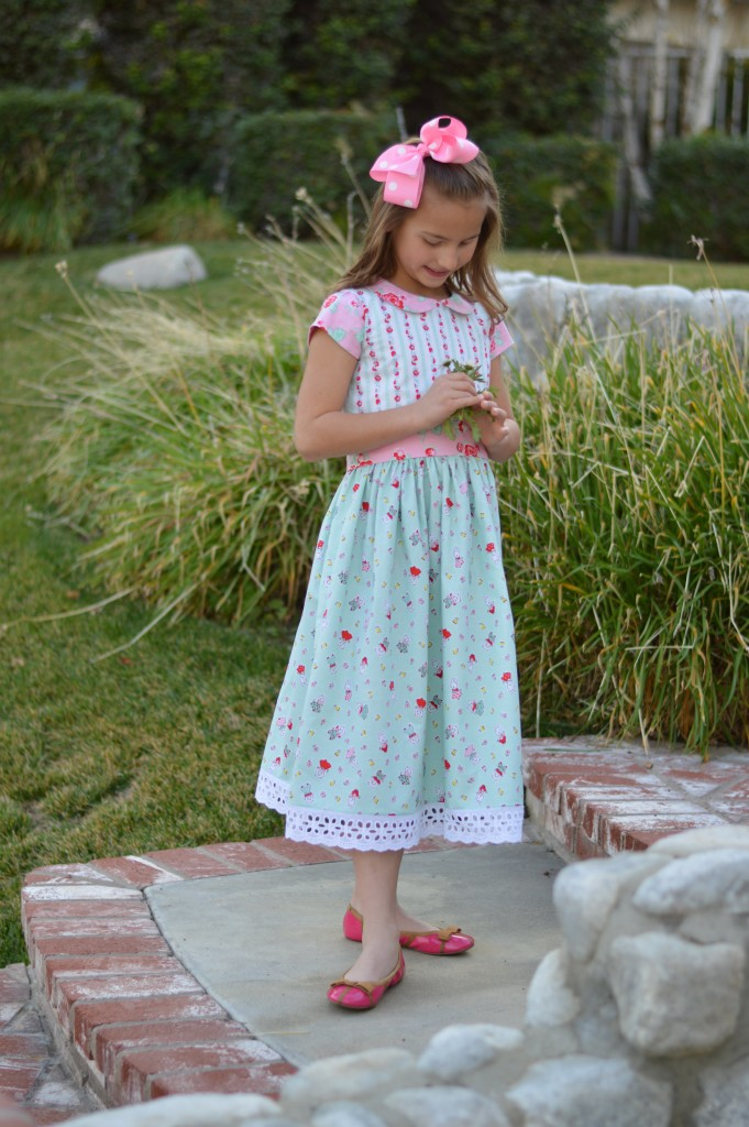 milk sugar flower dress