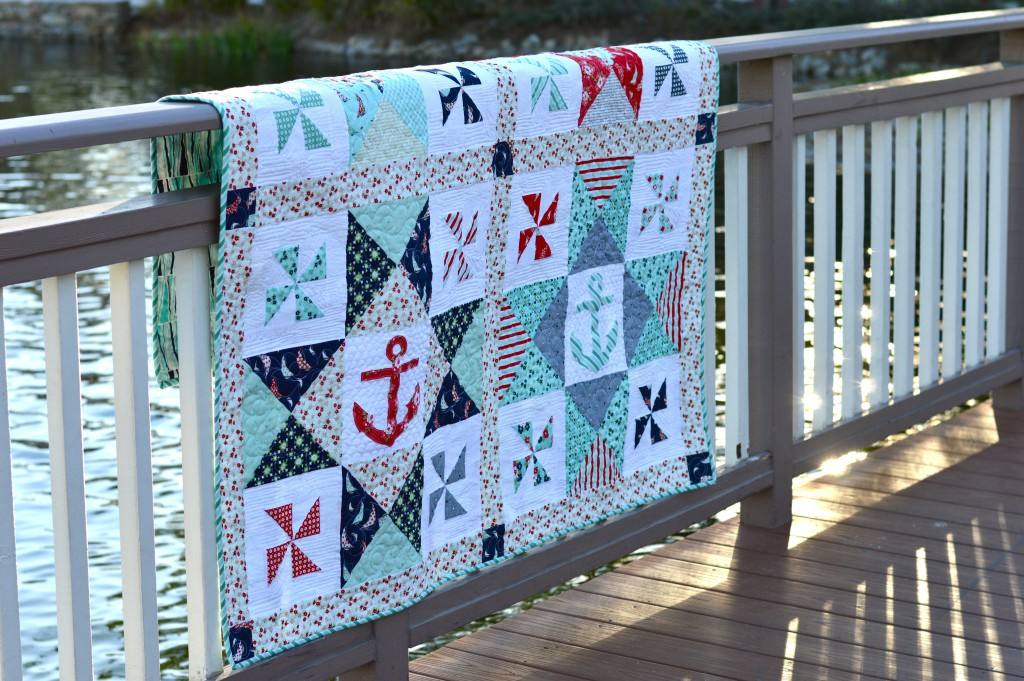 sail away with me quilt 2