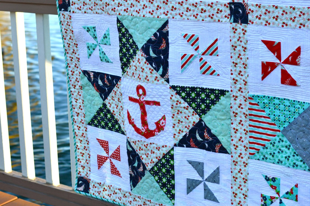 sail away with me quilt 3