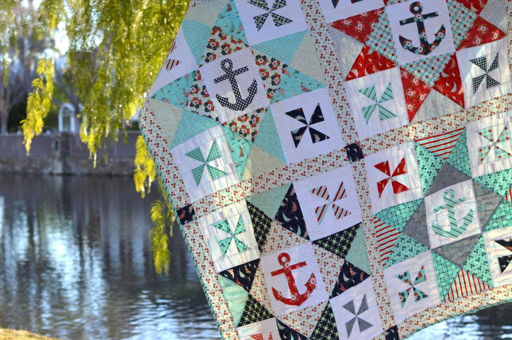 sail away with me quilt 4