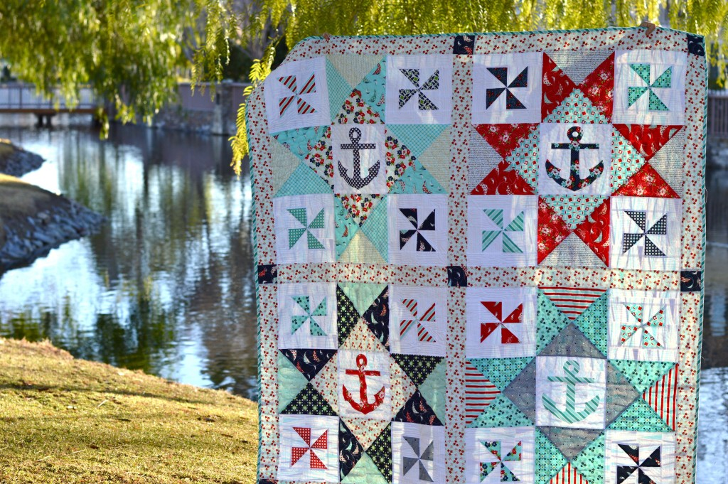 sail away with me quilt 6