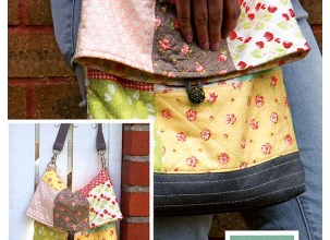 Kimberly's Sac Pattern from Fat Quarter Shop