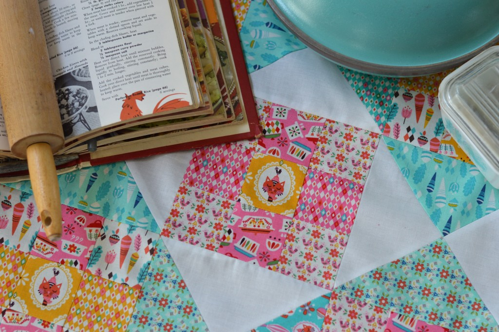 vintage kitchen quilt