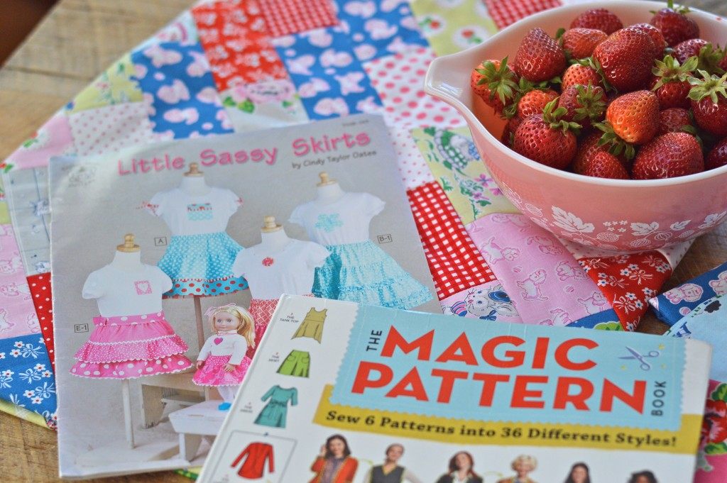 Strawberry Biscuit Fabric