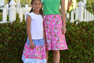 Strawberry Biscuit Matching Skirts