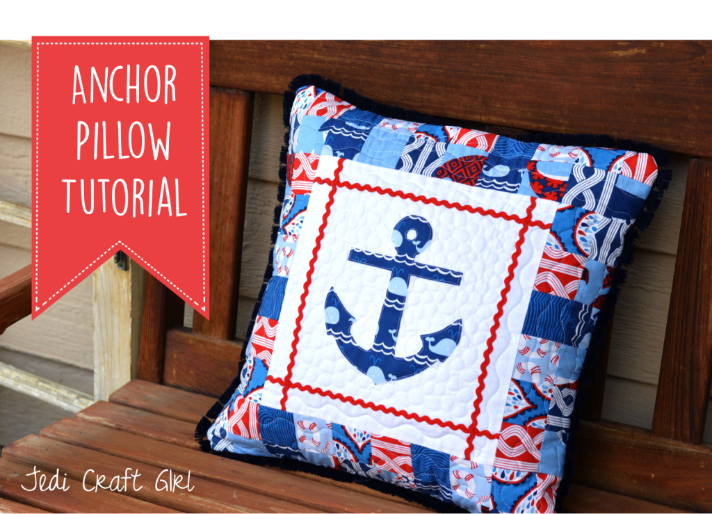 anchor pillow tutorial