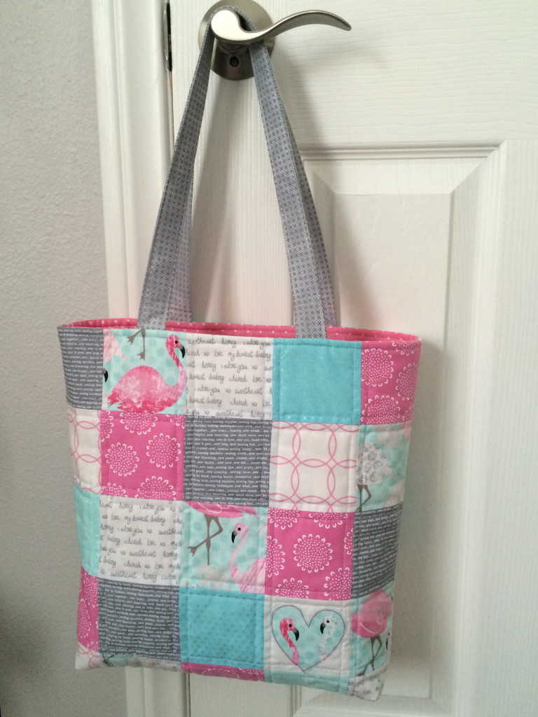patchwork tote bag 35