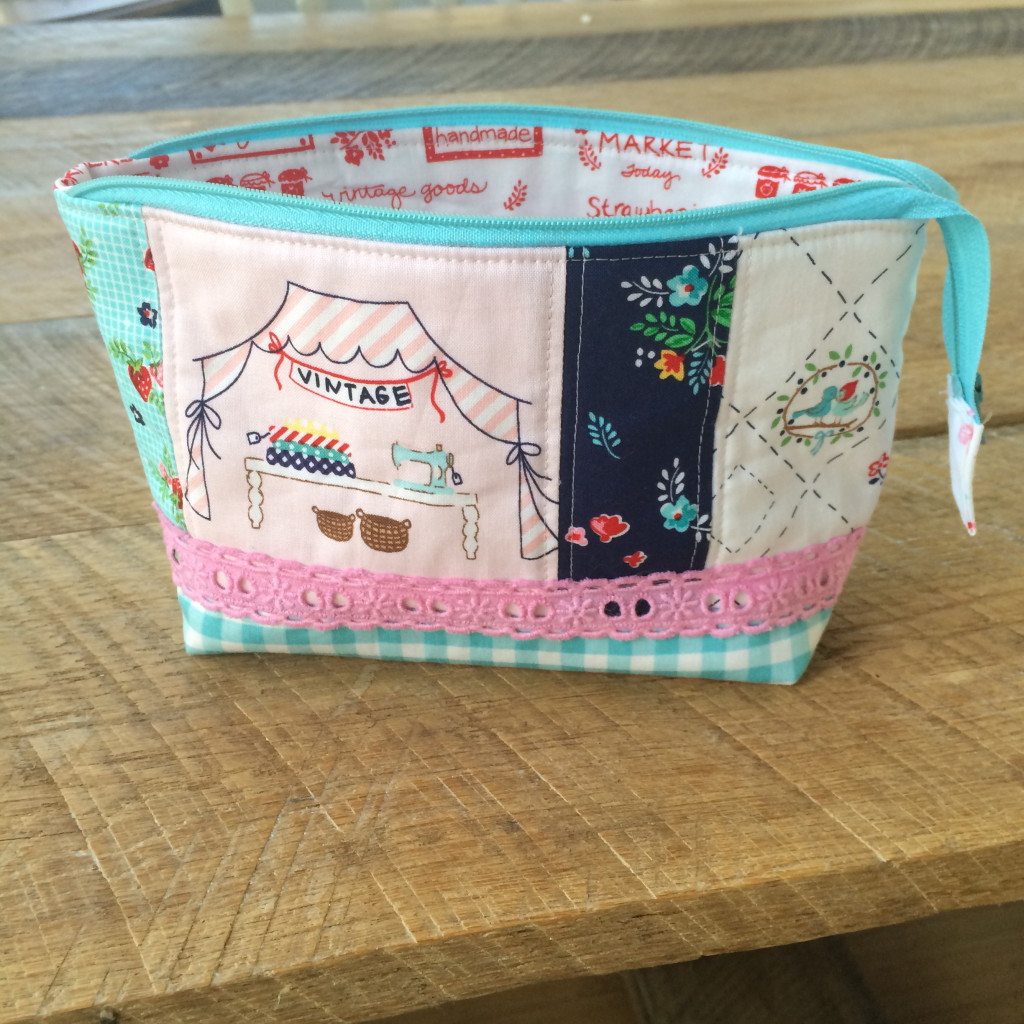 zipper pouch tutorial. 28
