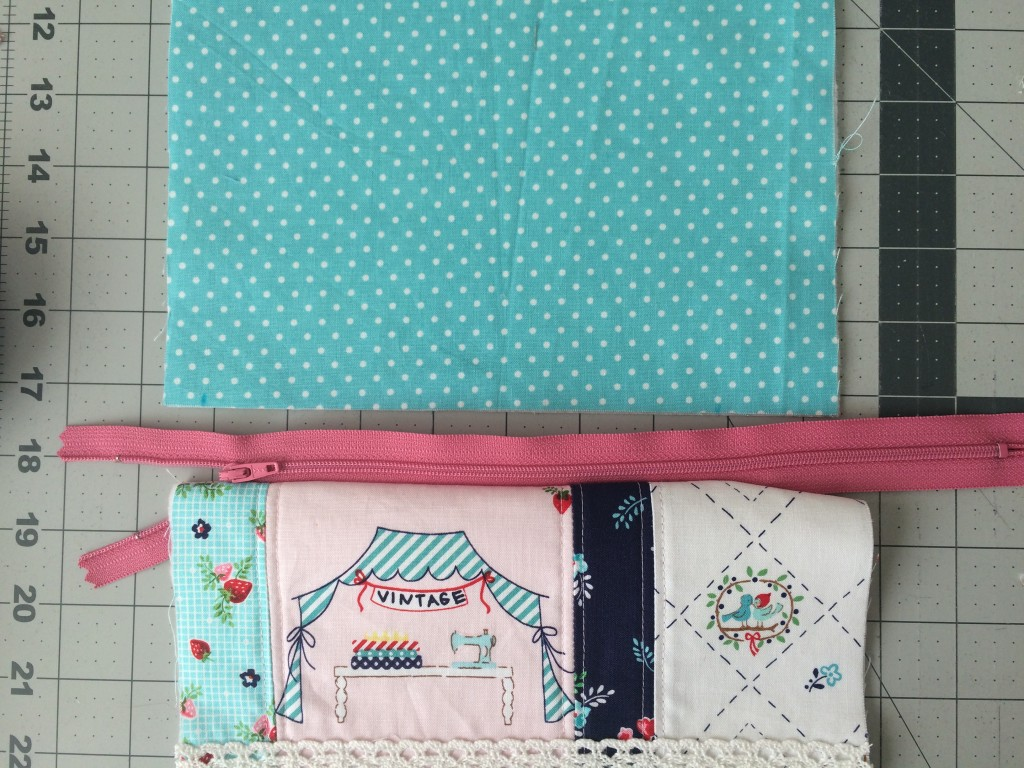 zipper pouch tutorial. 7