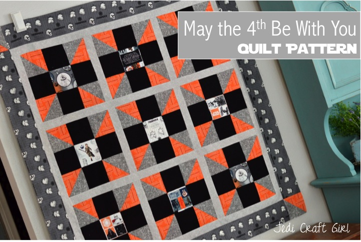 may the 4th be with you quilt