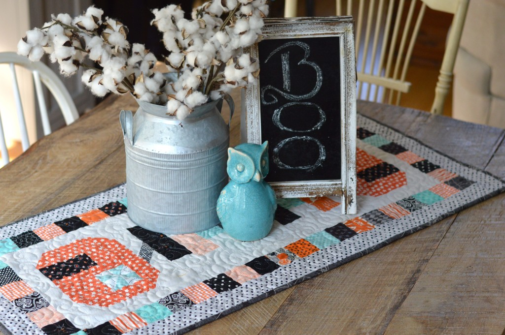spooky delights table runner 2