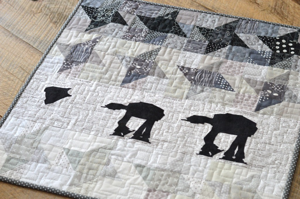 star wars at-at quilt