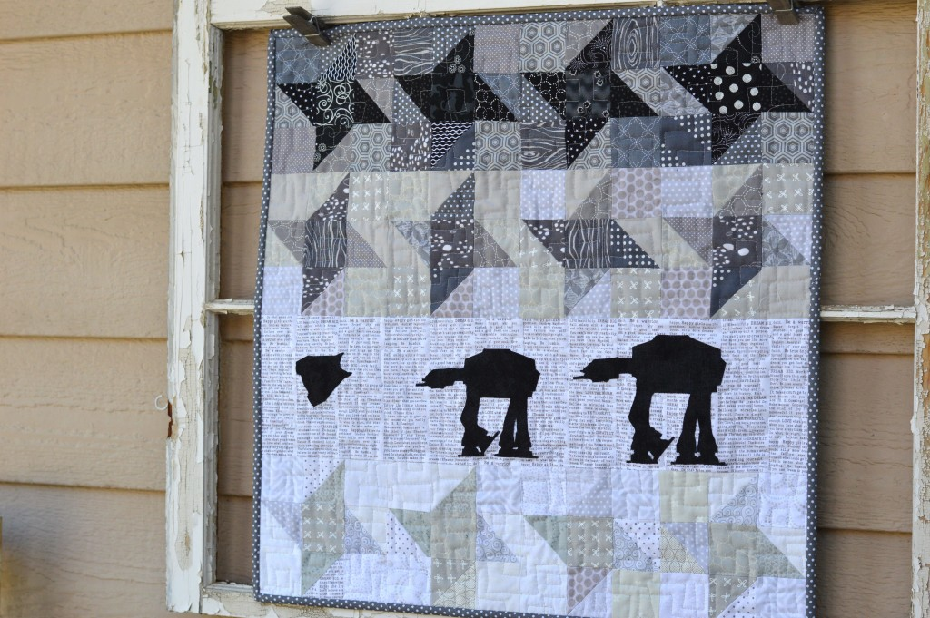 star wars at-at quilt 5