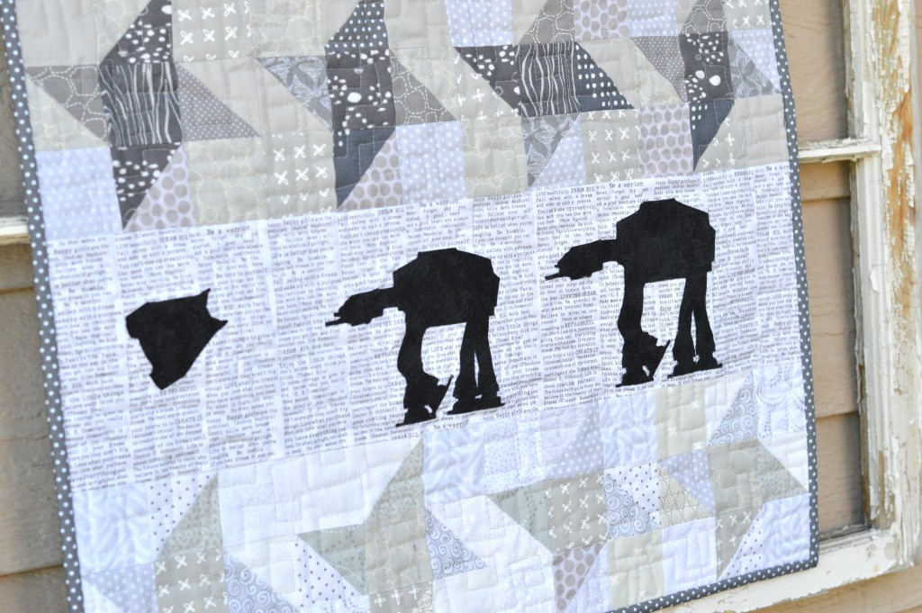 star wars at-at quilt 6