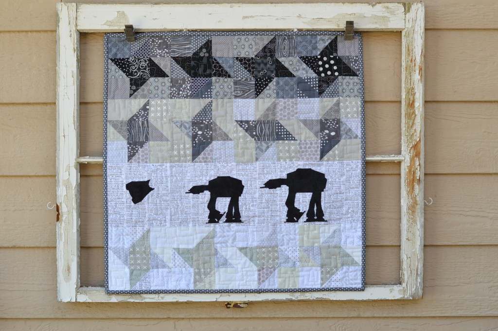 star wars at-at quilt 7