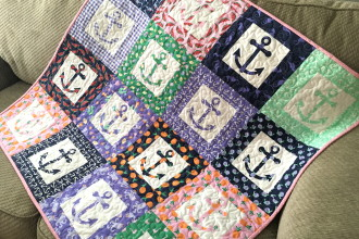 Sizzix Anchor Baby Quilt