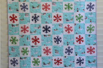 Pixie Noel Blog Tour – Snowflake Quilt  Tutorial
