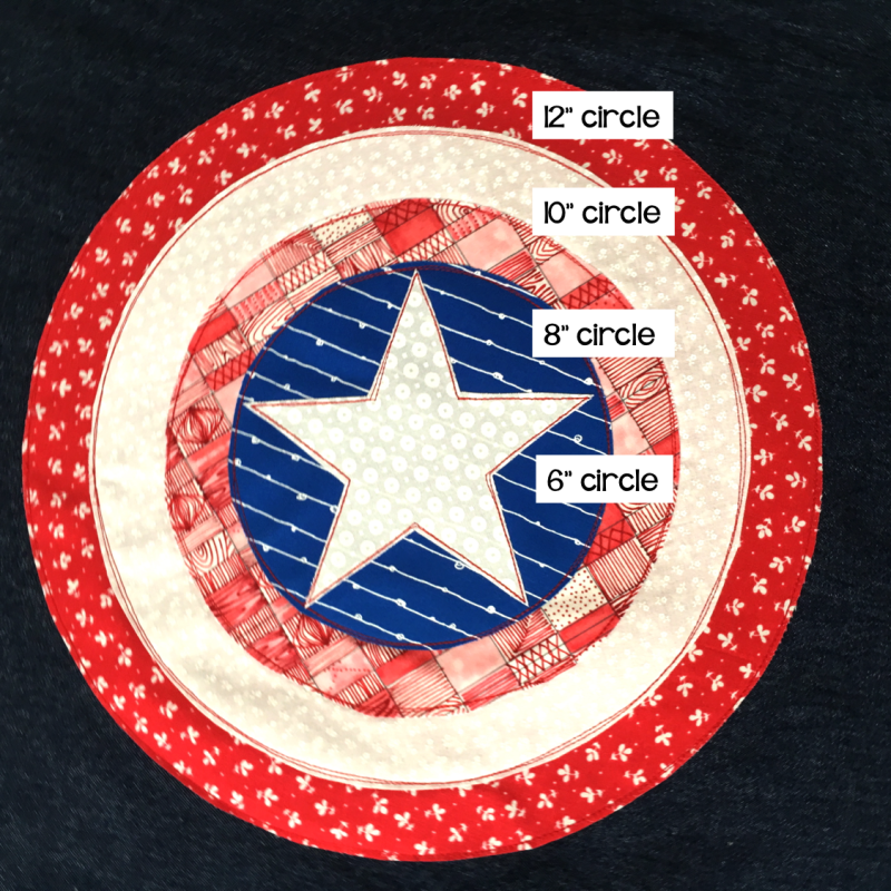 captain america shield cutting