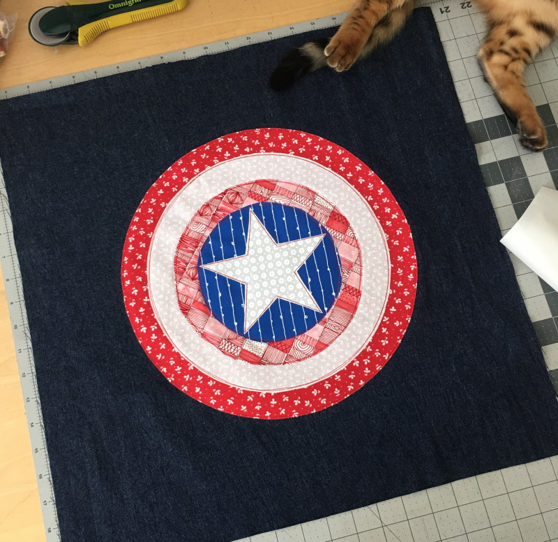 captain american pillow 2