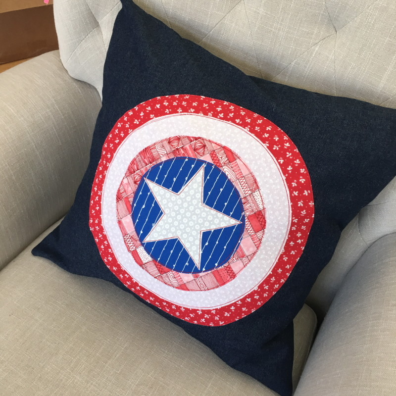 captain american pillow 9