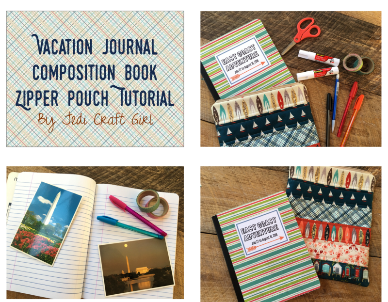 comp book zipper pouch