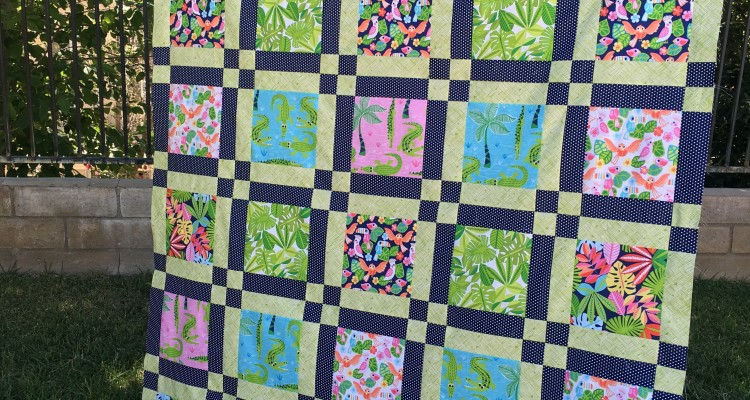 Later Alligator {Free Quilt Pattern}