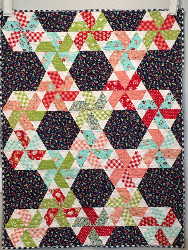 vintage picnic little ruby quilt 13