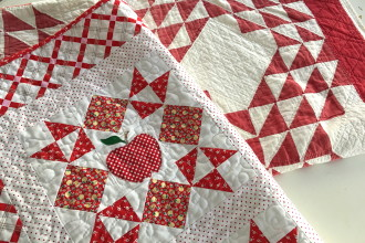 Apple Picking Quilt Tutorial