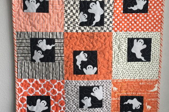Ghost Windows Wallhanging Quilt
