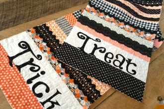 Trick or Treat Table Runner