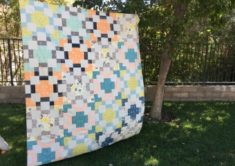 Timber Quilt Pattern from Fat Quarter Shop