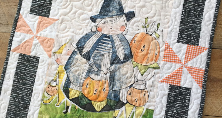 Spooky Town Wall Quilt