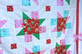 Meowy Christmas Quilt Pattern