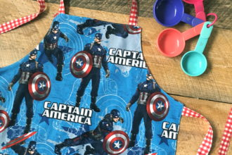 Captain America Child's Apron