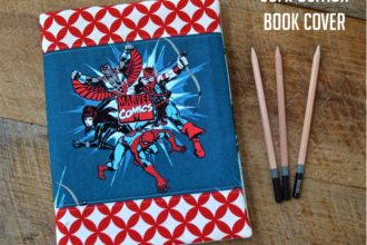 Marvel Covered Composition Book