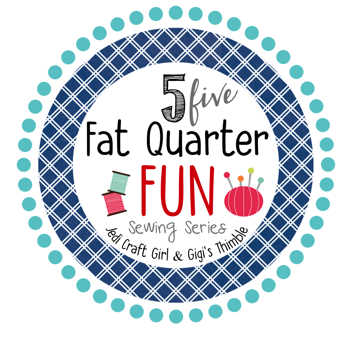 5 fat quarter fun logo