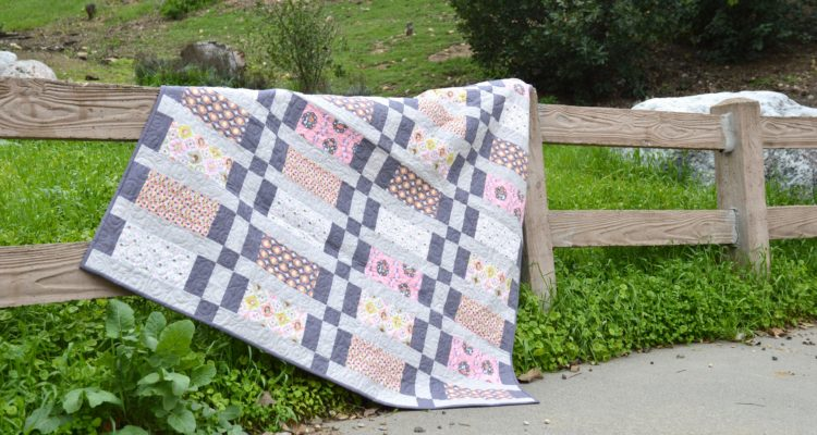 All Stacked Up {5 Fat Quarter Fun Quilt}