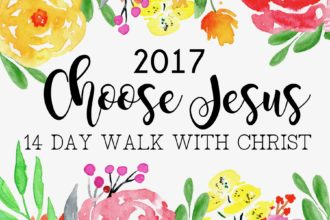 14 Day Walk with Christ 2017