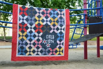 Circa 1974 Quilt Pattern – Featuring Gingham Girls