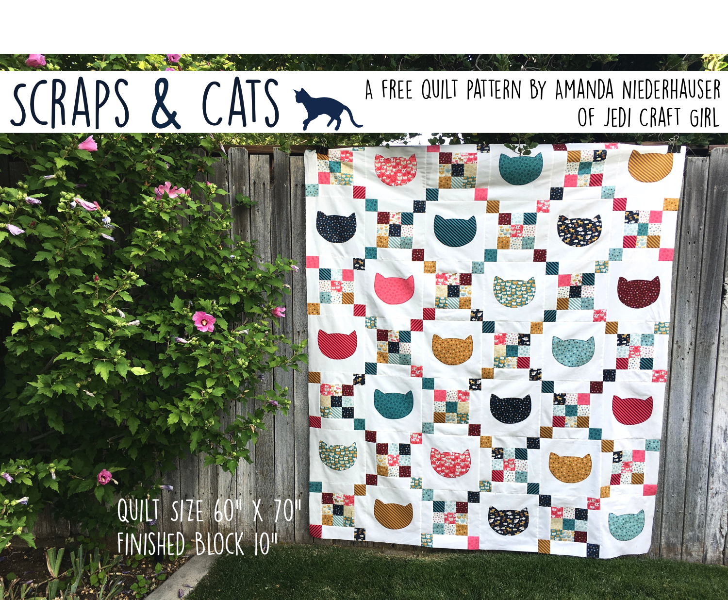 photograph regarding Free Printable Cat Quilt Patterns known as Cats Ss a totally free quilt behavior