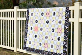 Bouncing Off The Walls Quilt Pattern