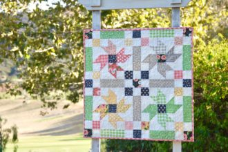 Country Flowers Quilt Pattern