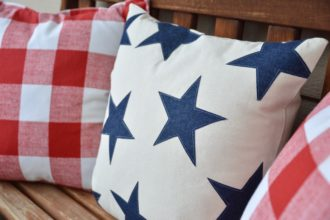 Star Spangled Pillow