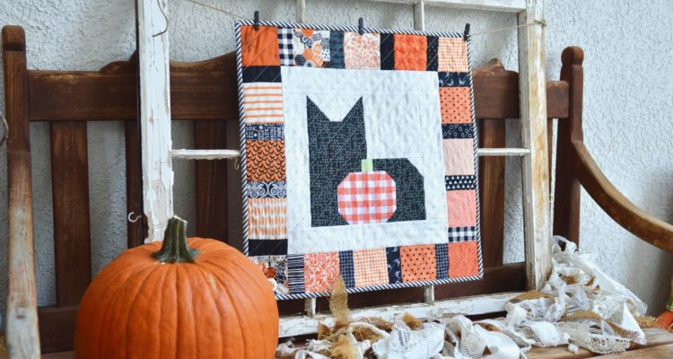 I Love Cats Halloween Wallhanging