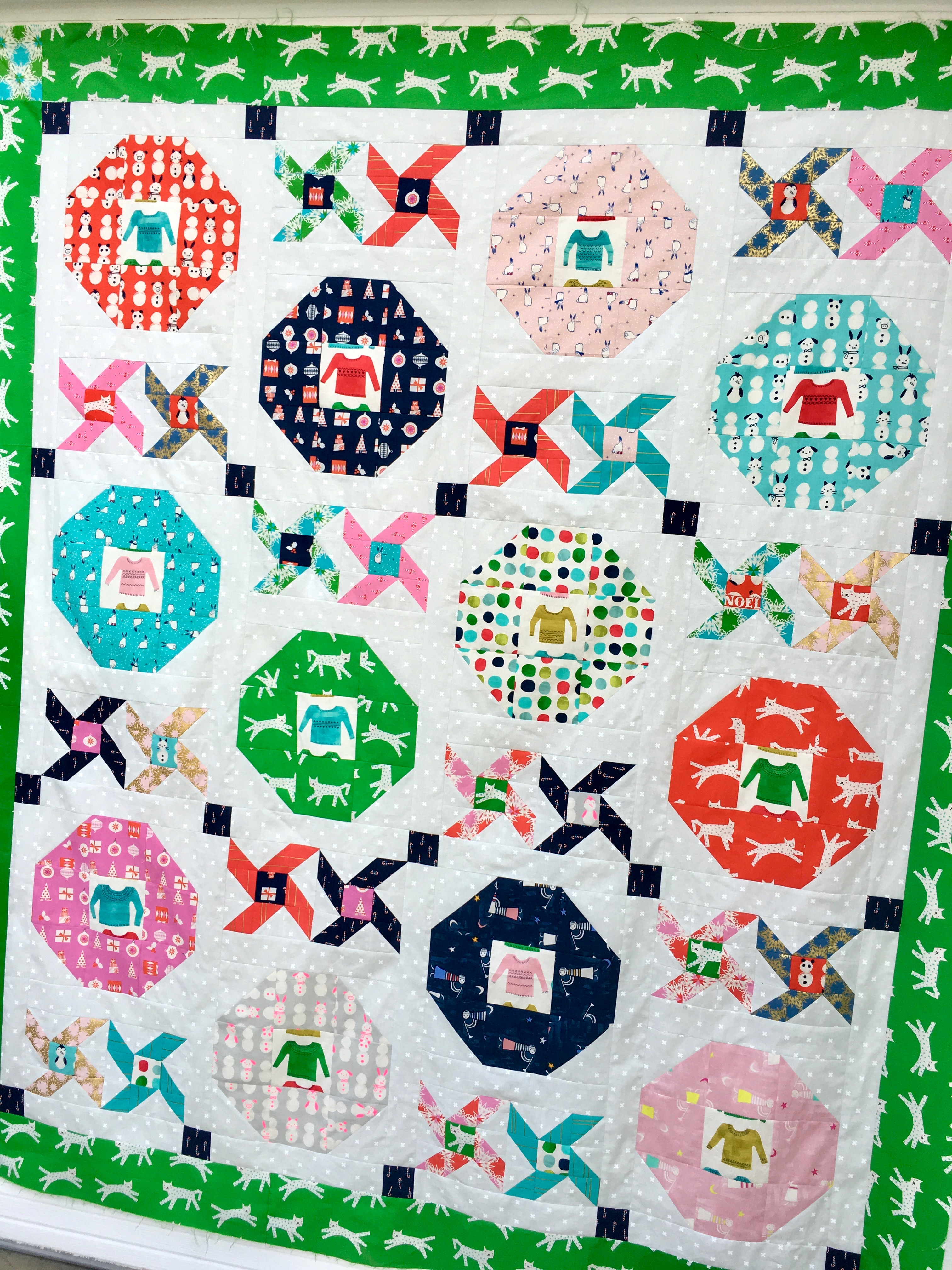 christmas party quilt 10