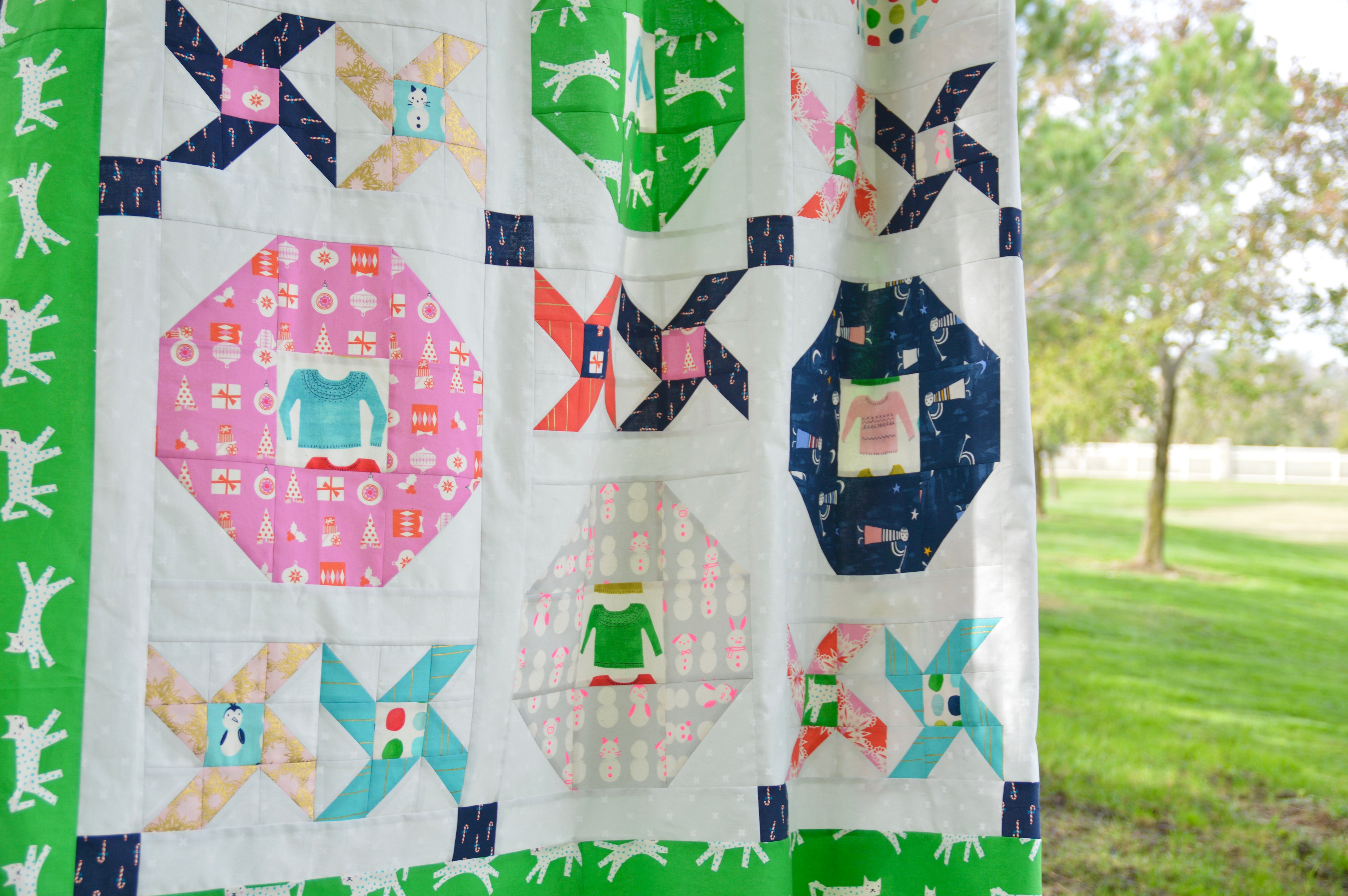 christmas party quilt 11