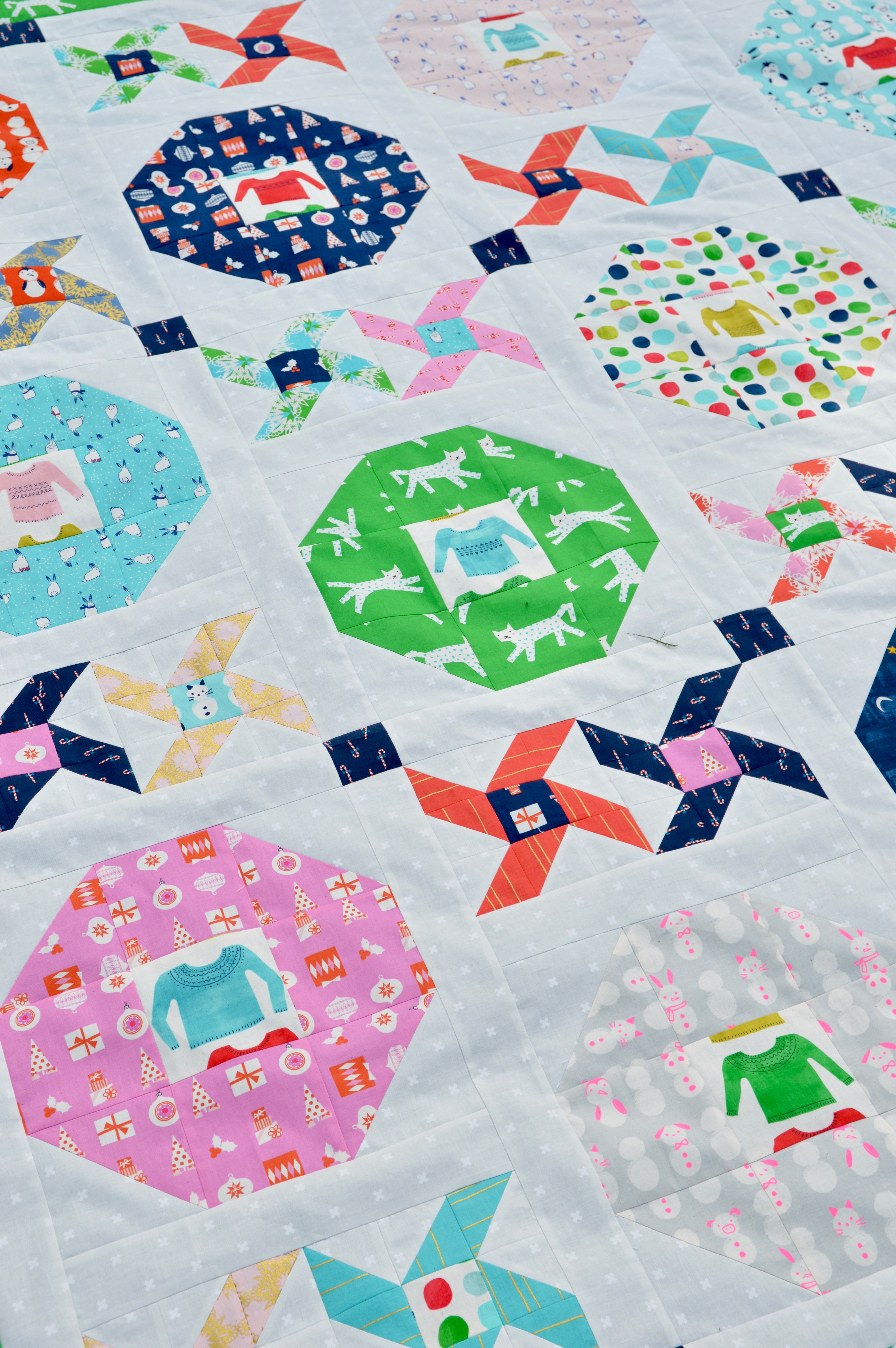 christmas party quilt 5