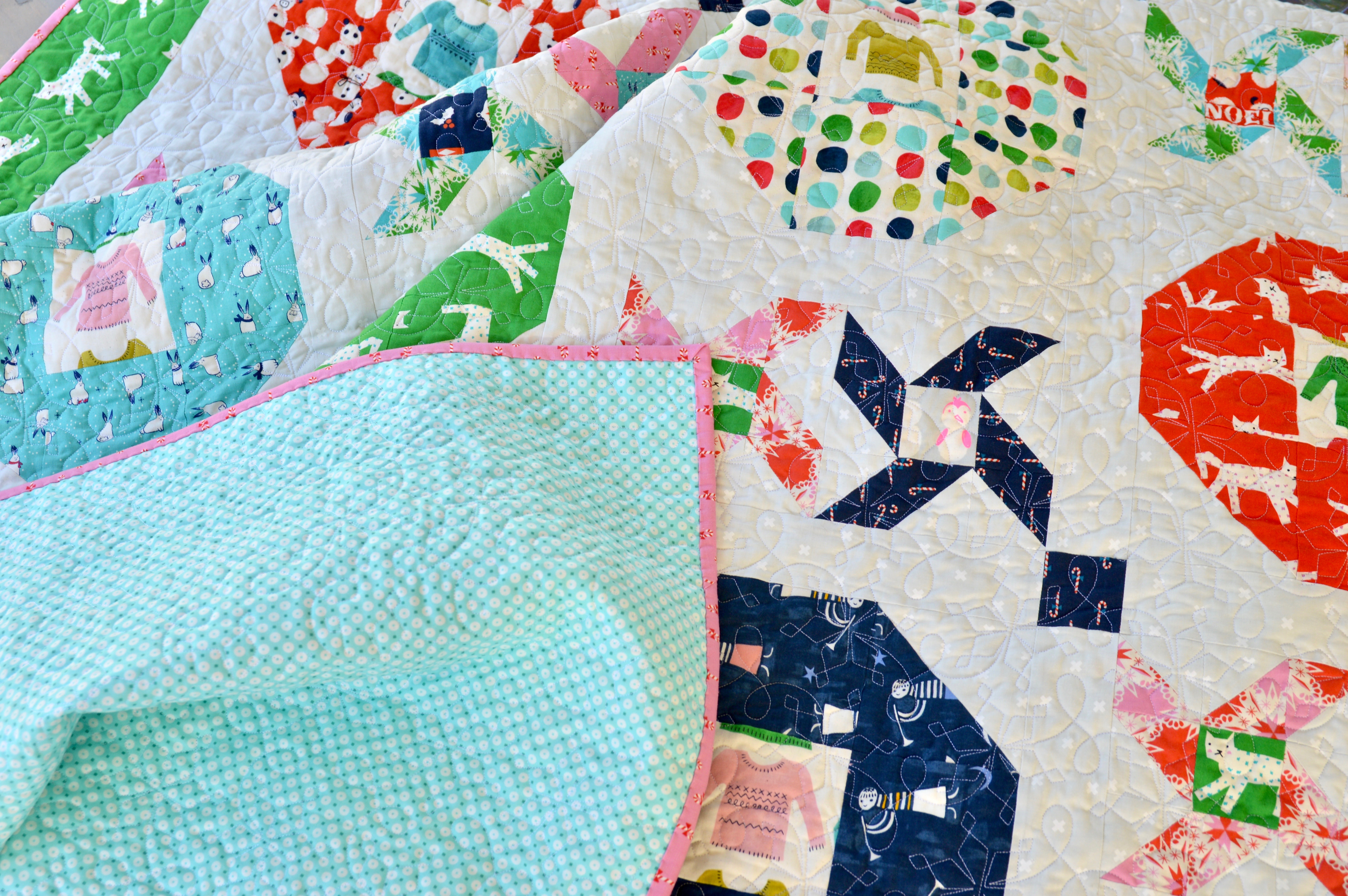 christmas party quilt pattern