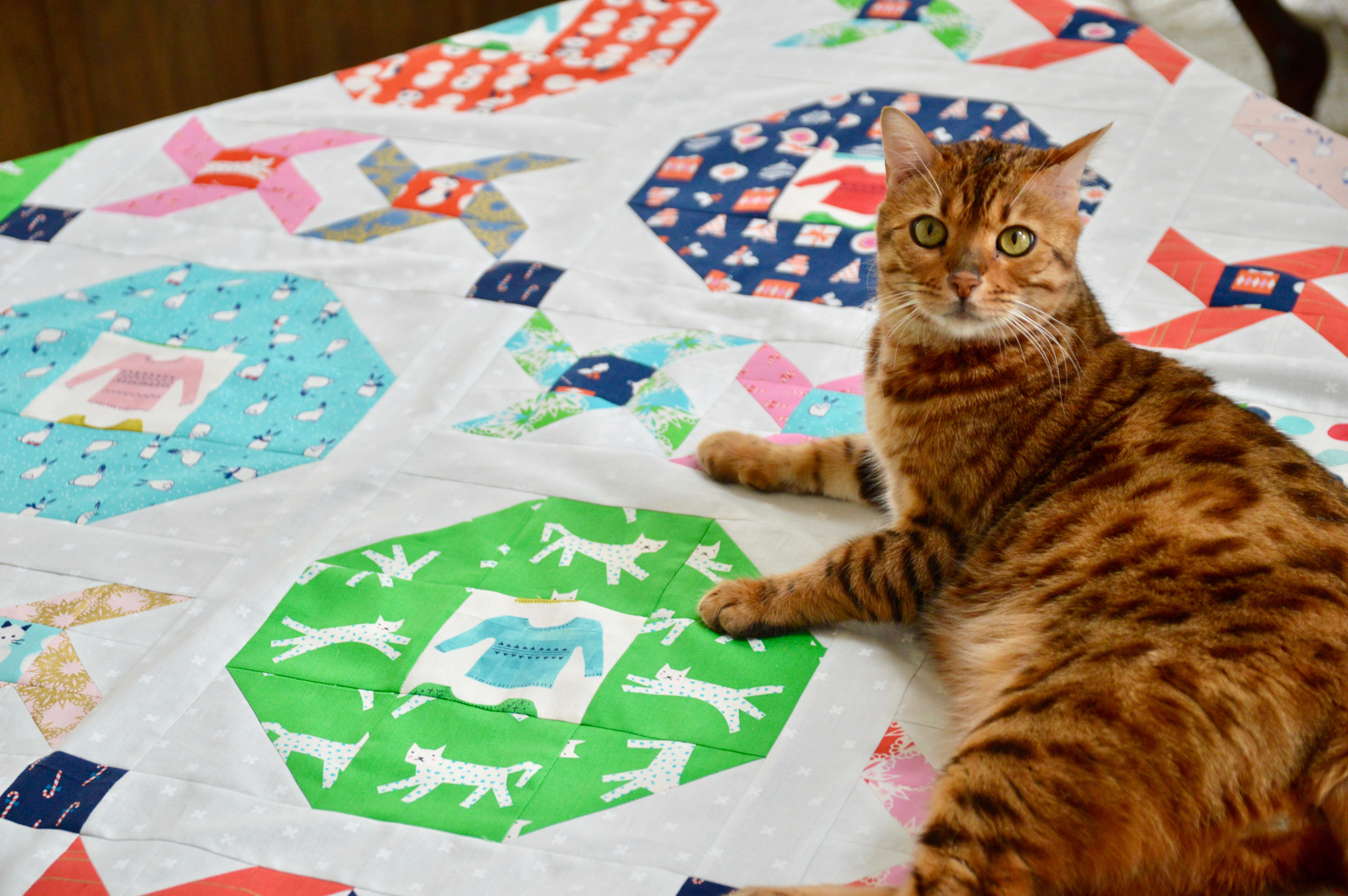 christmas party quilt
